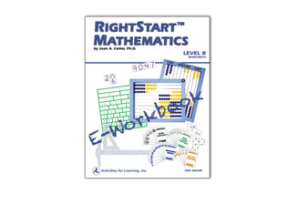 RightStart™ Mathematics Level B Worksheets E-Book