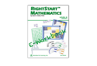 RightStart™ Mathematics Level D Worksheets E-Book