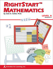 RightStart™ Mathematics Level A Worksheets CAN Gently Used (includes 35% discount)