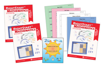 RightStart™ Mathematics Level A Second Edition Book Bundle