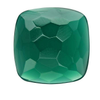 Green Onyx 12mm Cushion Cabochon, D |Sold by Each | 73701