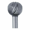 High-Speed Steel Round Bur, 6.3mm |Sold by Each| 345526