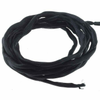 Black Silk 2mm Hand-Dyed Cords, 40"