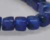 """Cube Blue Quartz Beads 4mm 