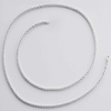 925 Sterling silver 1mm Cable Chain | Sold by Ft | 63272050