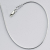 925 Sterling silver 1mm Seamed Round Snake Chain, 18"