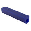 Blue Wax Ring Tube, Flat-Top, Center Hole | 700511