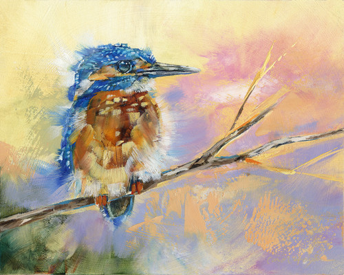 Baby Kingfisher 22-Bird- Limited Edition