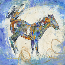Horses- Oil and Wax - Sky Blue Buck