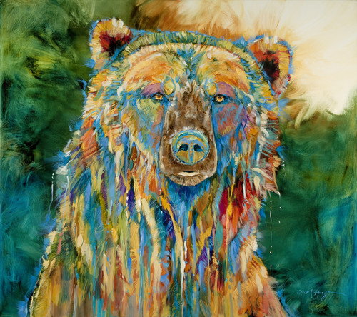 Grizzly Blues - Original - Sold