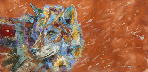 Blizzard Winds Wolf - Print - Limited Edition