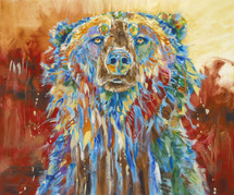 Big Red Griz - Print - Limited Edition