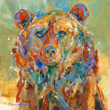 Bear's Winter Coat painting