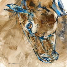 Grace horse painting