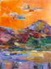 Cloud Dance in Paradise 2 landscape painting