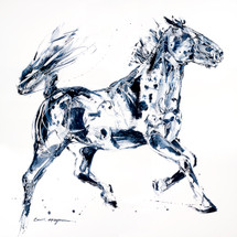 Whiskey A Go-Go horse painting
