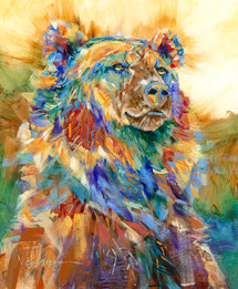 Blue Ruff - Limited Edition Wildlife Print