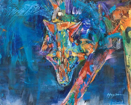 Blue Nightfall Original painting