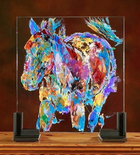 Wanderer Mare Glass Horses