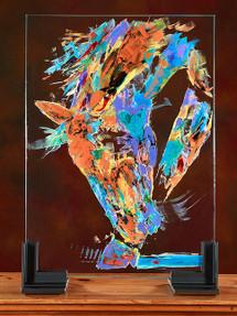 Paint Graze Glass Horses original painting