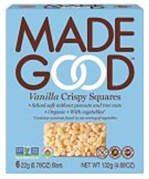 Made Good Organic Vanilla Crispy Squares