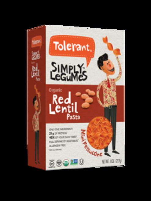 Tolerant Red Lentil Mini Fettuccine