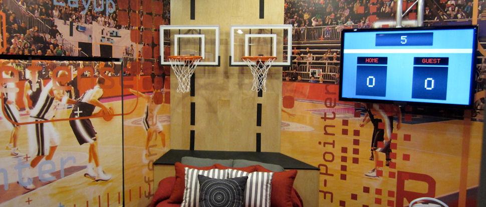 Mini Basketball Hoops by JustInTymeSports
