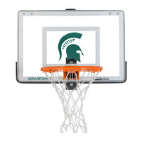 Mini Collegiate 1.0 Basketball Hoop Set - Michigan State University
