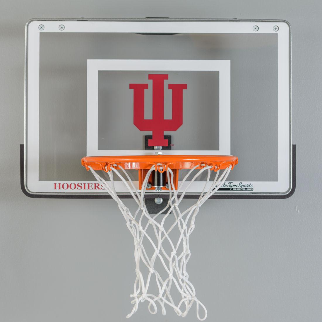Indiana University Mini Baskteball Hoop