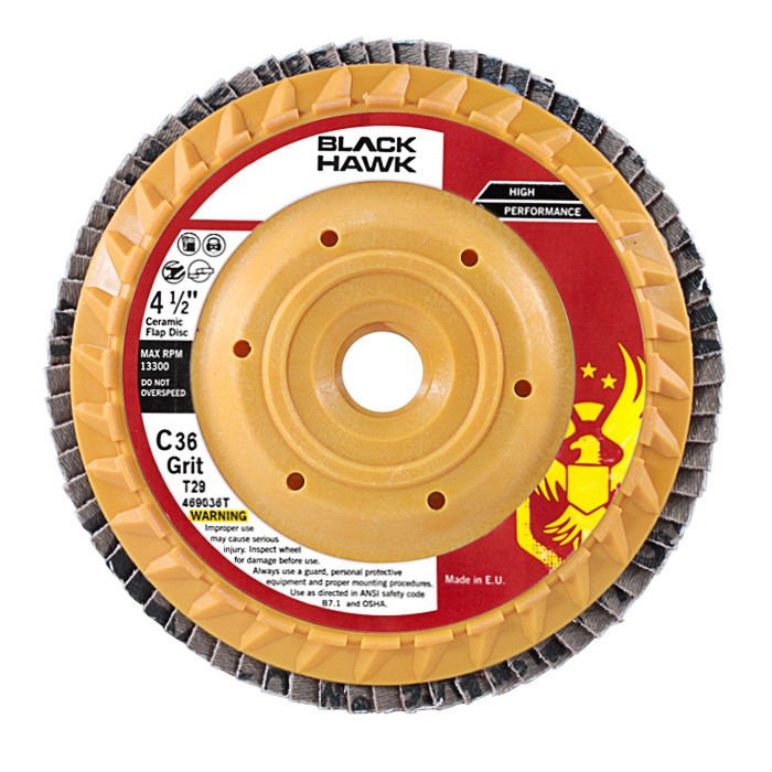 4 5 Quot Trimmable Ceramic Flap Disc T29 Conical Wheels For