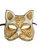 Venetian mask Gatto Mac Craquele