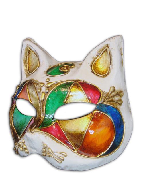 Venetian mask Gatto Luna