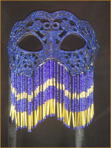 Venetian mask Colombina Oriente
