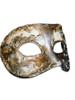 Authentic Venetian mask Colombina Musica Stucco