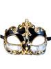 Venetian mask Colombina Musica Sinfonia