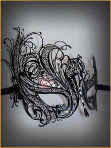 Venetian metal mask Colombina Metallo Mireille
