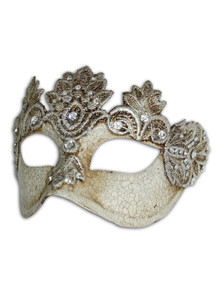 Authentic Venetian mask Colombina Mac Kre