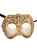 Authentic Venetian mask Colombina Mac Craquele