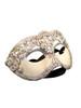 Authentic Venetian mask Colombina Mac Craquele