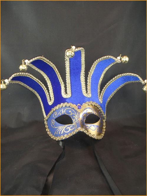 Venetian mask Colombina Jolly Velutto