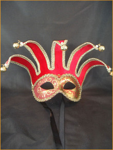 Venetian mask Colombina Jolly Velutto