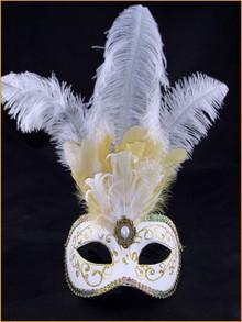 Venetian mask Colombina Festa