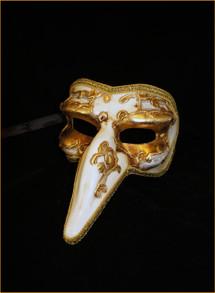 Venetian mask Pantalone Sinfonia