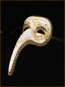 Venetian mask Zan Turco Rezzo