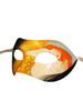 Venetian eye mask Colombina Klimt Danae
