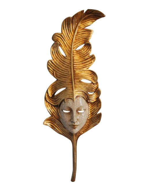 Authentic Venetian Mask Foglia