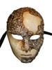 Authentic Venetian Mask Volto Mac Craquele
