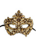 Venetian paper mache mask Colombina Baroque II