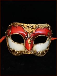 Venetian paper mache mask Colombina Sota