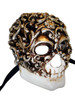 Venetian mask Teschio Baroque